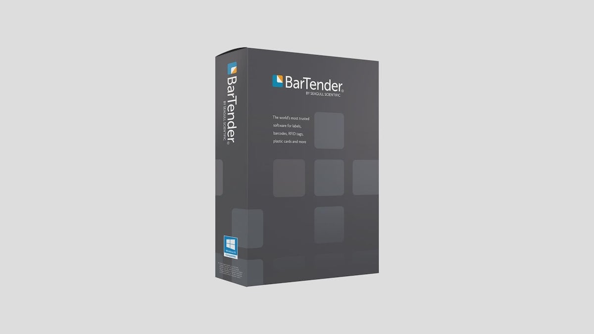 Bartender Basic Edition Programvara Etikettdesign