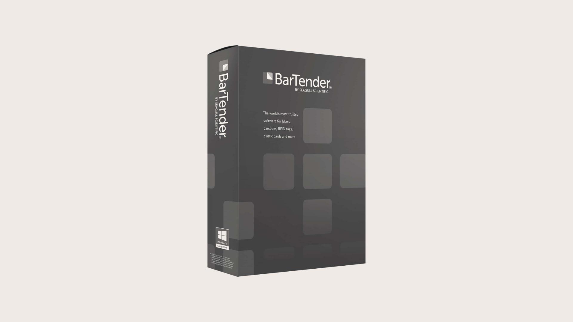 Bartender Professional Edition Programvara Etikettdesign
