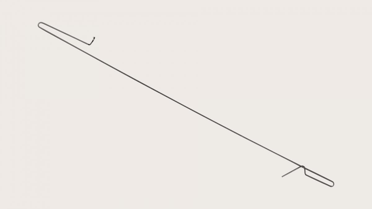 Bunt Clips Stål 480 mm
