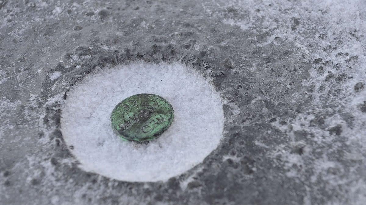 Fryser lyfthålen på dina betong prefab vid utomhuslagring under vintern?