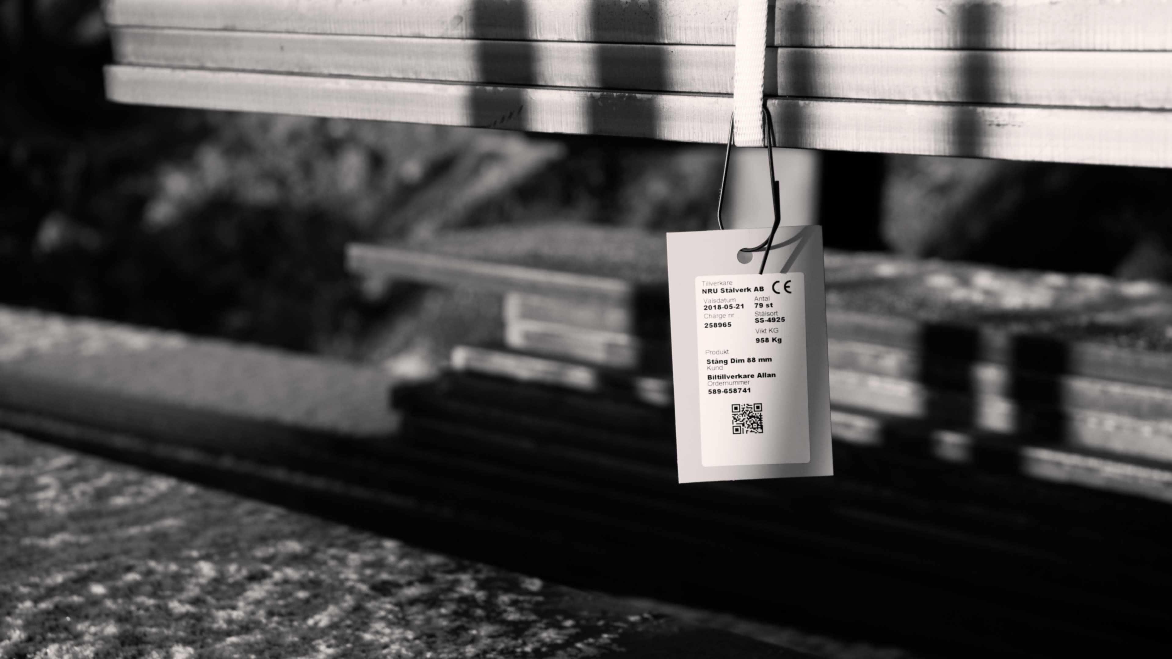 Leveransmärkning med hängetiketter som är tydlig och hållbar skapar mervärde