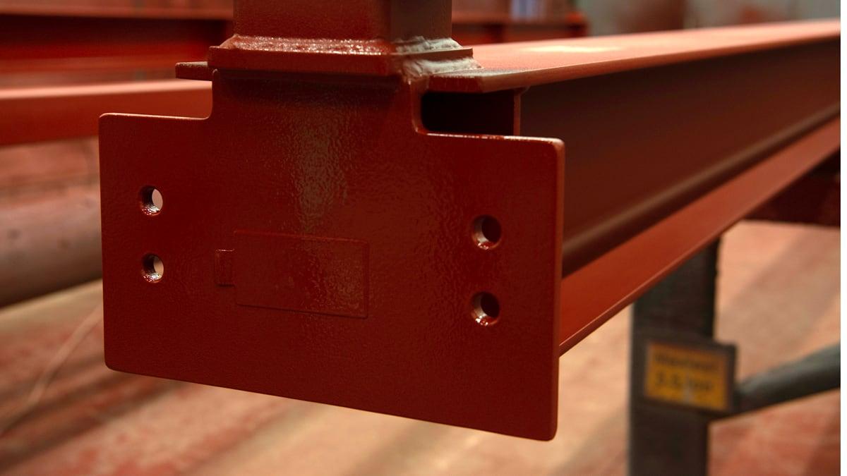 Märkning av konstruktionsstål genom rostskyddsmålning