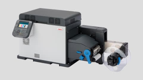 OKI Pro 1040 CMYK Färgskrivare Industri