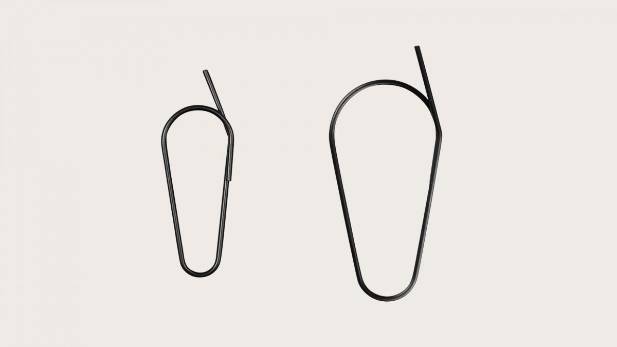 Standard Clips Metall